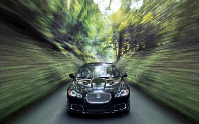 2010 Jaguar XFR wallpaper thumbnail.