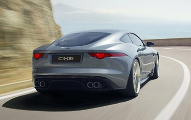2011 Jaguar C-X16 Concept wallpaper thumbnail.