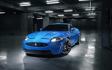 2011 Jaguar XKR-S wallpaper thumbnail.