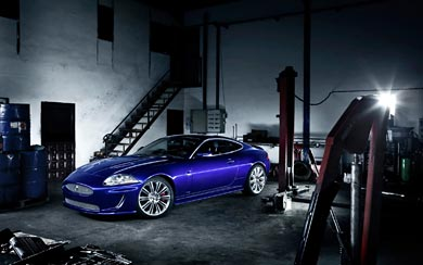 2011 Jaguar XKR Special Edition wallpaper thumbnail.