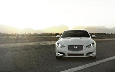 2012 Jaguar XF wallpaper thumbnail.
