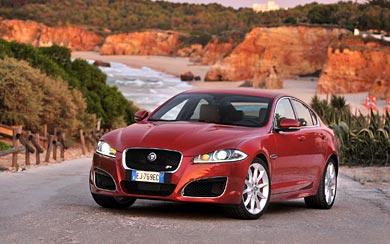 2012 Jaguar XFR wallpaper thumbnail.