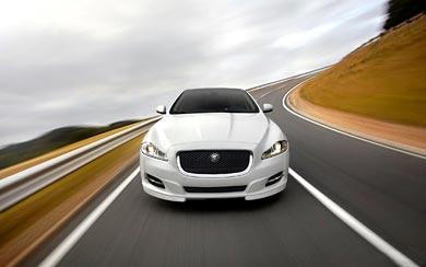 2012 Jaguar XJ Sport Pack wallpaper thumbnail.