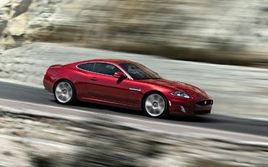 2012 Jaguar XKR wallpaper thumbnail.