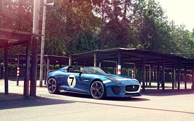 2013 Jaguar Project 7 Concept wallpaper thumbnail.