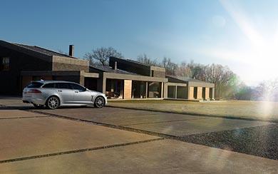 2013 Jaguar XF Sportbrake wallpaper thumbnail.