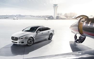 2013 Jaguar XJ Ultimate wallpaper thumbnail.