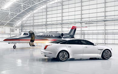 2013 Jaguar XJ Ultimate wallpaper thumbnail.
