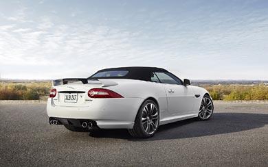 2013 Jaguar XKR-S Convertible wallpaper thumbnail.