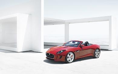 2014 Jaguar F-Type wallpaper thumbnail.