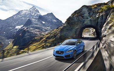 2014 Jaguar XFR-S wallpaper thumbnail.