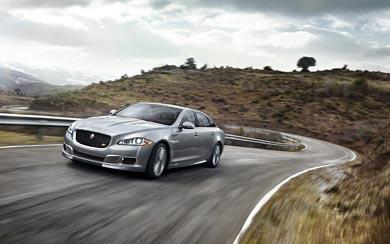 2014 Jaguar XJR wallpaper thumbnail.