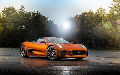 2015 Jaguar C-X75 Bond Concept wallpaper thumbnail.