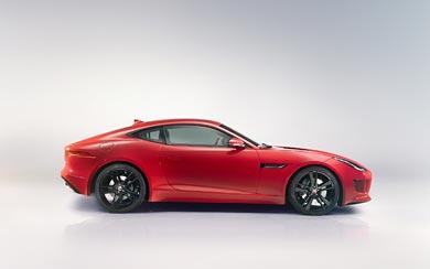2015 Jaguar F-Type Coupe wallpaper thumbnail.