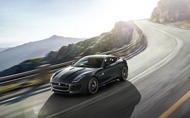 2015 Jaguar F-Type R Coupe wallpaper thumbnail.