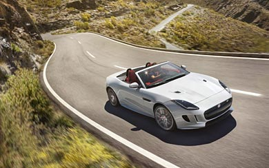 2016 Jaguar F-Type wallpaper thumbnail.
