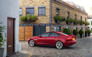 2016 Jaguar XE S wallpaper thumbnail.