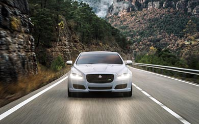 2016 Jaguar XJR wallpaper thumbnail.