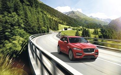 2017 Jaguar F-Pace wallpaper thumbnail.