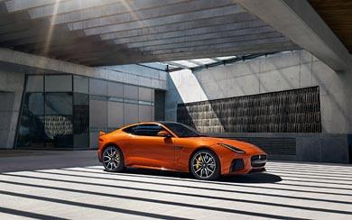 2017 Jaguar F-Type SVR Coupe wallpaper thumbnail.