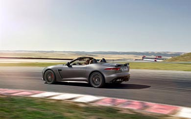 2017 Jaguar F-Type SVR Convertible wallpaper thumbnail.