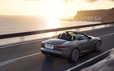 2018 Jaguar F-Type wallpaper thumbnail.