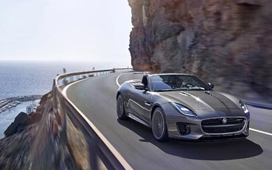 2018 Jaguar F-Type wallpaper thumbnail.