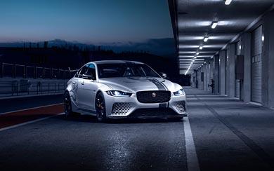 2018 Jaguar XE SV Project 8 wallpaper thumbnail.