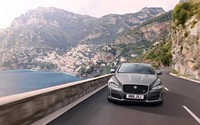 2018 Jaguar XJR575 wallpaper thumbnail.