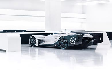 2020 Jaguar Vision Gran Turismo SV Concept wallpaper thumbnail.