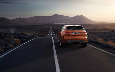 2021 Jaguar F-Pace SVR wallpaper thumbnail.