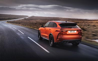 2021 Jaguar F-Pace SVR wallpaper thumbnail.