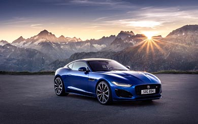 2021 Jaguar F-Type R Coupe wallpaper thumbnail.