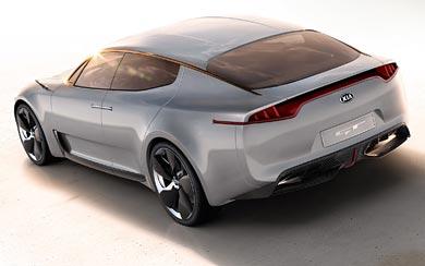 2011 Kia GT Concept wallpaper thumbnail.