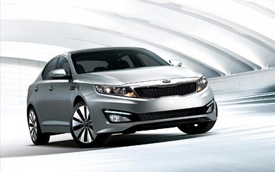 2011 Kia Optima wallpaper thumbnail.