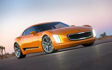 2014 Kia GT4 Stinger Concept wallpaper thumbnail.