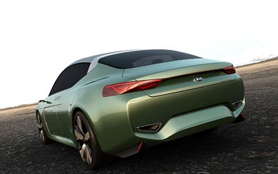2015 Kia Novo Concept wallpaper thumbnail.