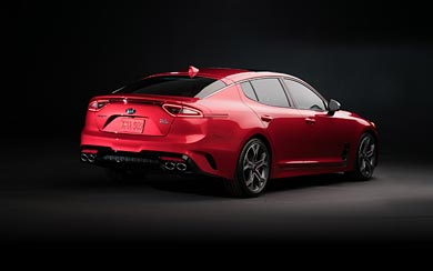 2018 Kia Stinger GT wallpaper thumbnail.