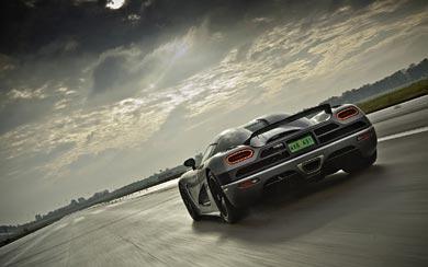 2011 Koenigsegg Agera wallpaper thumbnail.