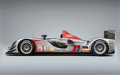 2009 Audi R15 TDI wallpaper thumbnail.