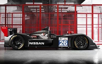 2011 Nissan Signature Racing LMP2 wallpaper thumbnail.