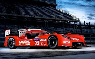 2015 Nissan GT-R LM Nismo wallpaper thumbnail.