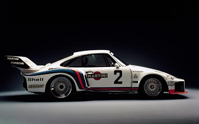 1976 Porsche 935 wallpaper thumbnail.