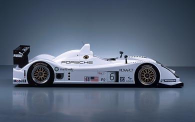 2006 Porsche LMP2 RS Spyder wallpaper thumbnail.