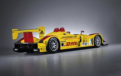 2008 Porsche RS Spyder wallpaper thumbnail.