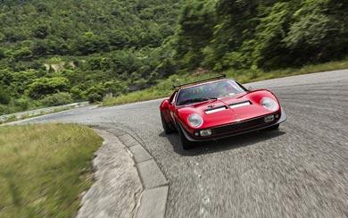 1968 Lamborghini Miura Jota SVR wallpaper thumbnail.