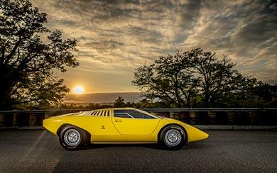 1971 Lamborghini Countach LP500 Concept wallpaper thumbnail.