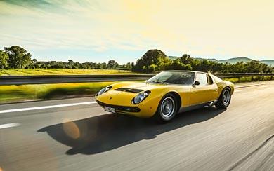 1971 Lamborghini Miura SV wallpaper thumbnail.