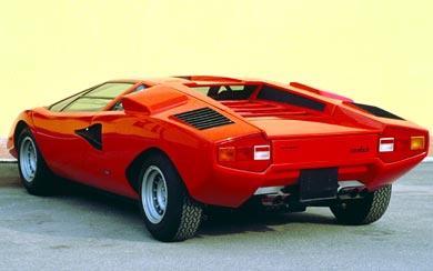 1973 Lamborghini Countach LP400 wallpaper thumbnail.