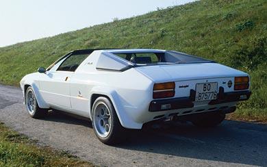 1976 Lamborghini Silhouette P300 wallpaper thumbnail.